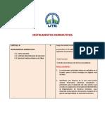 5. Instrumentos normativos