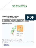 FATA(Federally Administered Tribal Areas  OF PAKISTAN )