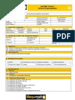 Informe Tecnico Motoniveladora 140k