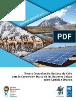 Tercera Comunicación Nacional de Chile Ante La CMNUCC Resumen Ejecutivo