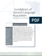 Chapter 2 -Foundations of Second Language Acquisition