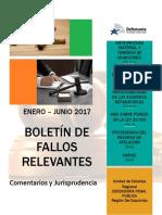 Boletín Enero Julio 2017