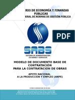 Modelo de Dbc-Anpe Obras