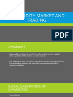 Commodity Market and Trading