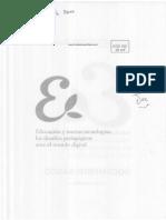 Dussel; Quevedo - Educacion y Nuevas Tecnologias