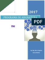 Programa de Asignatura TIC