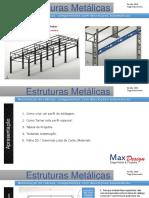 Estruturas Metálicas - Material de Treinamento