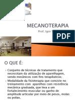 Análise Da Mecanoterapia