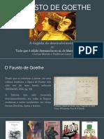 o Fausto de Goethe_apresentaçao