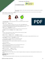 Gramática Inglesa Articulo Indeterminado