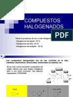 Halogenuros de Alquilo Clase