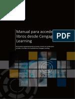 Manual Para Acceder Cengage Alumno