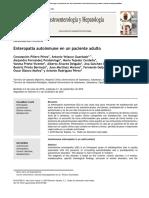 Enteropat ́ıa autoinmune en un paciente adulto