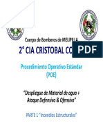 Despliegue Material de Agua CB Melipilla