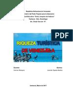 Riquez Turistica de Venezuela