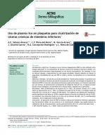 2013 Plasma Rico en Plaquetas - Úlceras Crónicas de Miembros Inferiores