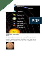 Imagen Sistema Solar