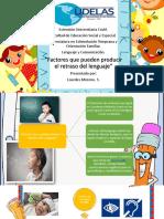 Charla de Factores Que Pueden Producri La Falt Dl Legnuaje. Lourdes