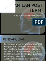 Kehamilan Post Term - Fu