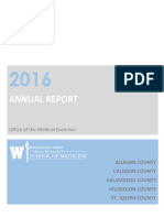 2016 Kalamazoo Medical Examiner's Annual Report