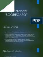Balances scorecard y kpi