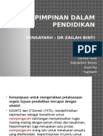 Kepimpinan pendidikan.pptx