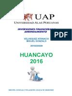 Trabajo Academico Inversiones Financieras y Arrend
