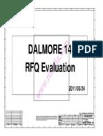 Dalmore14 RFQ 6050A2413801 MB AX1 0324 Dell Latitude XT3