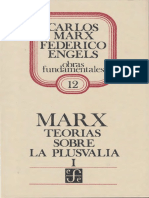 [ MARX, Teorías sobre la plusvalía LIBRO I - ver IV e apend 12.pdf