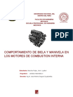 COMPORTAMIENTO DE BIELA Y MANIVELA