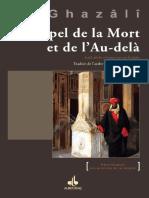 Rappel de La Mort Et de L Au-Delà (Revivification Des Sciences de La Religion)