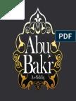 Le Comportement D'Abou Bakr as-Siddiq  (Qu ALLAH L'agree)