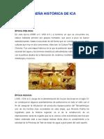 Reseña Histórica de Ica