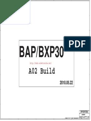 c14a0 Inventec BAP BXP30 Acer Travelmate 8372 8372t 8372t