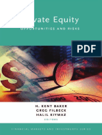 (Financial Markets and Investments) H. Kent Baker, Greg Filbeck, Halil Kiymaz-Private Equity_ Opportunities and Risks-Oxford University Press (2015)