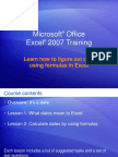Excel 2007 Figure out dates using formulas in Excel(4).ppt