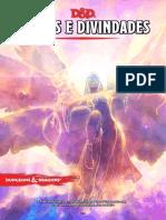 D&D 5e - Deuses e Divindades 2.0