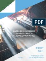 UNU Report No 21 - Handbook for Assessing Loss & Damage in Vulnerable Communities - April 2017