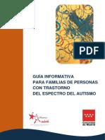 Guía Informativa Para Familias de Personas Con TEA