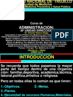 Administr y Dirección Unidad III