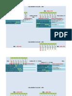 Calendário Escolar 2016 Mônica Vale ANEXOS