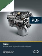 D0836 Truck Engine En