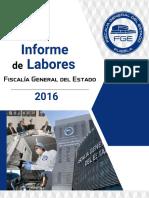 Informe Fiscalía General Del Estado