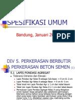 5. Spesifikasi Div.5