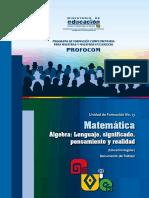 Matematicas Uf 13