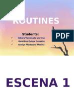Diapositivas de Nuestras RutinasFinal