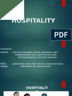 Ppt Hospitality