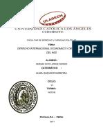 Derecho Economico Internacional y Delimitacion Del Aed