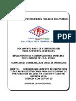 DBC Serv. Recurr Insp Tubular 2016