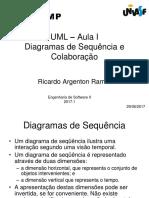 Aula 3 UML SequenciaColaboracao-Aula 3